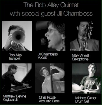 Rob Alley Quintet presents The Alabama Songbook by Byron Arnold